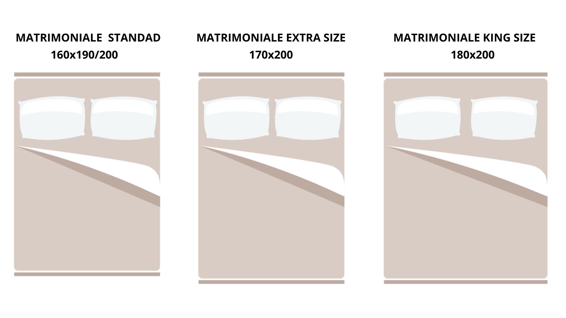 Letto Singolo Dimensioni Standard.Guida Alle Misure Piumino Matrimoniale Singolo O Piazza E Mezza